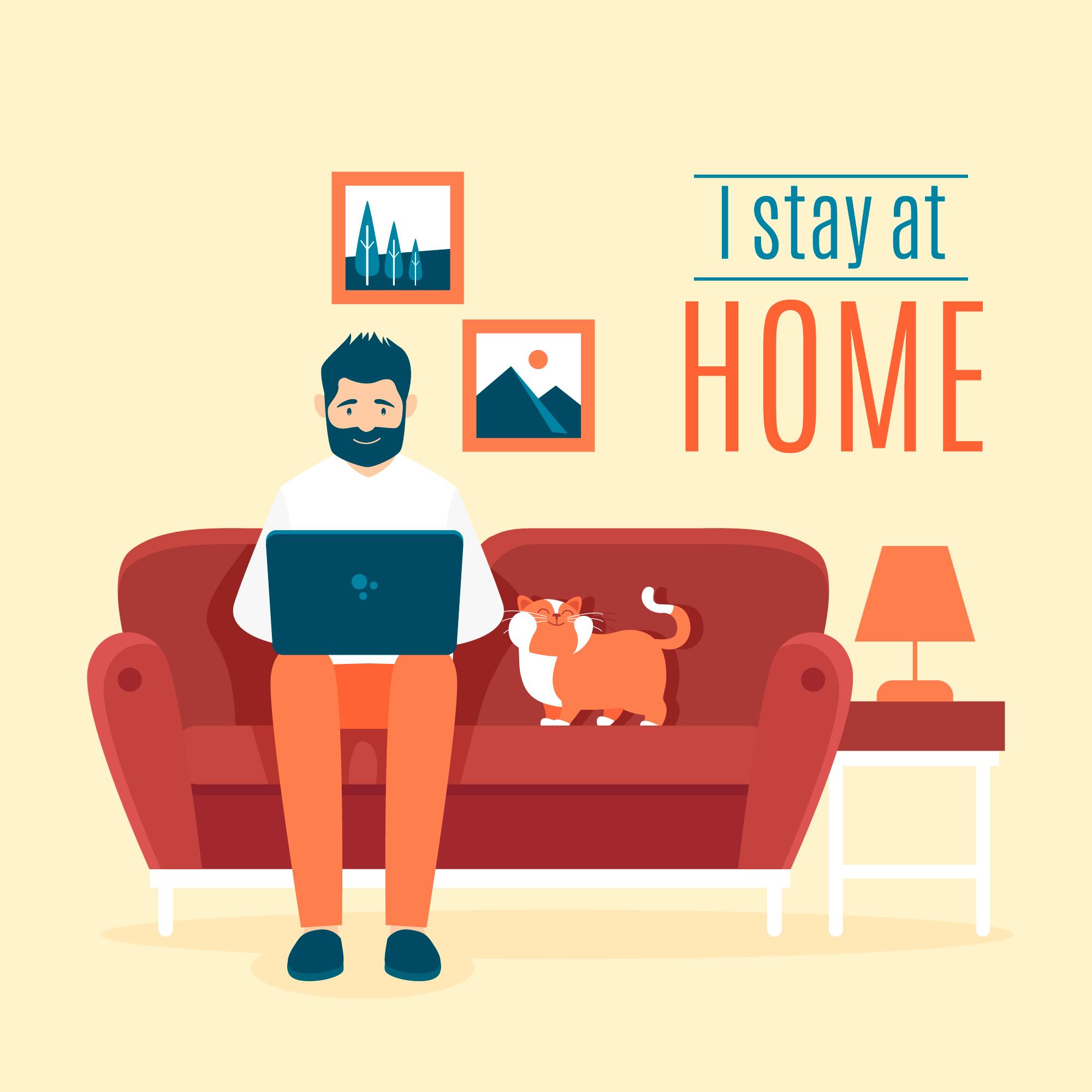 """Menerapkan Sistem """"Work From Home"""""""